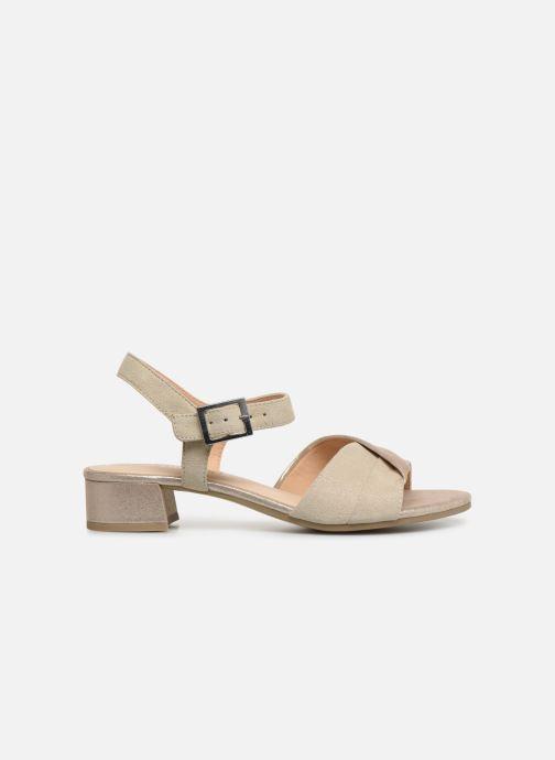 Sandales et nu-pieds Caprice Cacilie Beige vue derrière