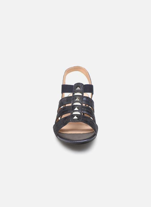 Sandales et nu-pieds Caprice Felicia Bleu vue portées chaussures