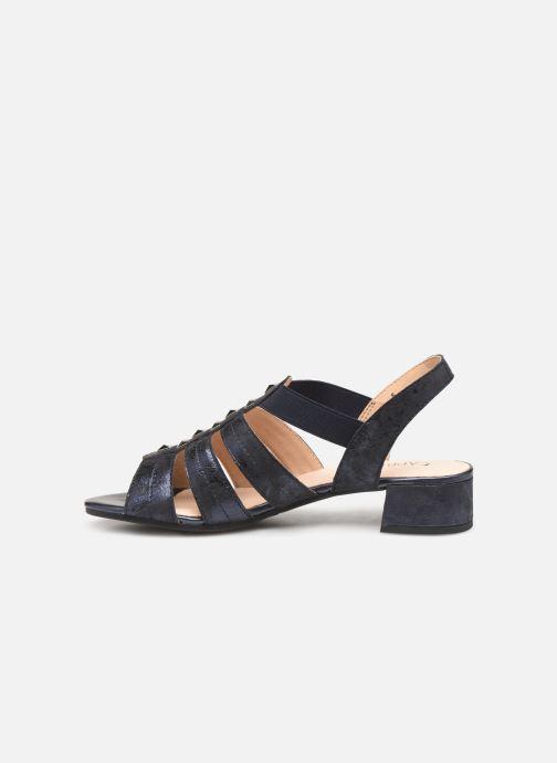 Sandales et nu-pieds Caprice Felicia Bleu vue face