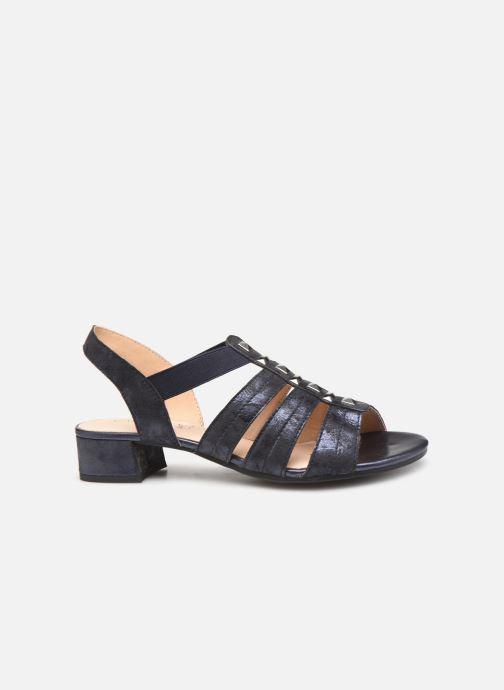 Sandales et nu-pieds Caprice Felicia Bleu vue derrière