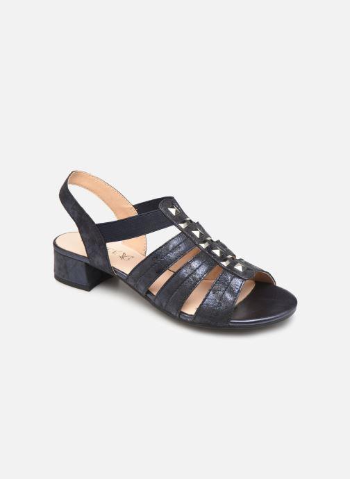 Sandales et nu-pieds Caprice Felicia Bleu vue détail/paire