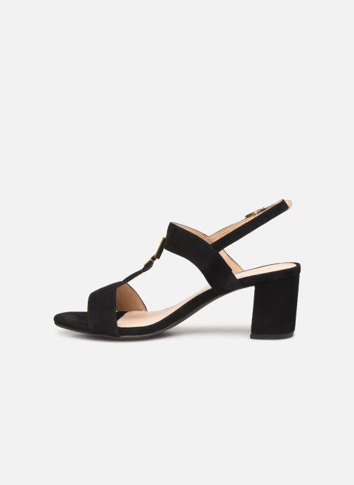 Sandales et nu-pieds Caprice Lotte Noir vue face