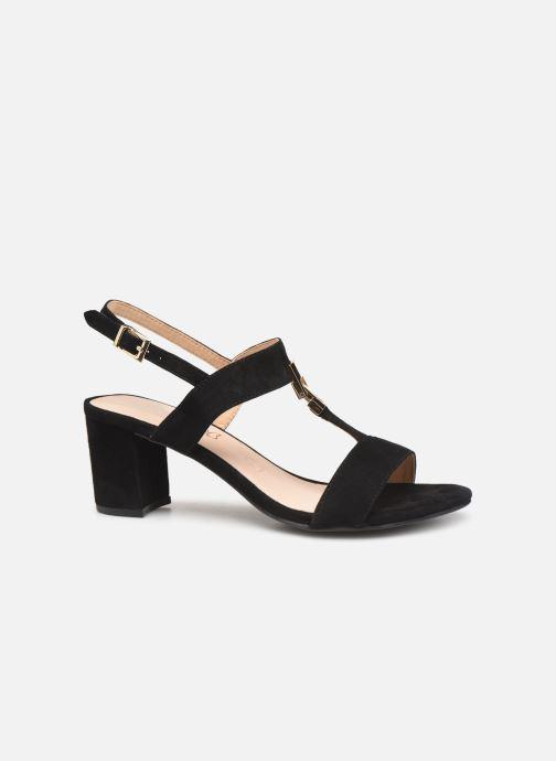 Sandales et nu-pieds Caprice Lotte Noir vue derrière
