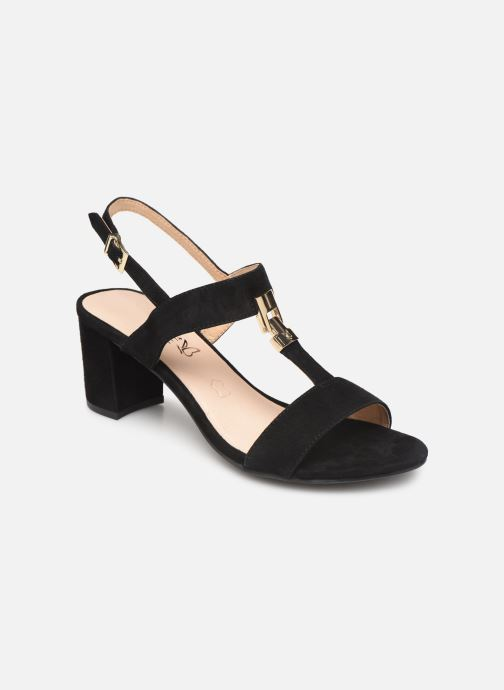 Sandales et nu-pieds Caprice Lotte Noir vue détail/paire