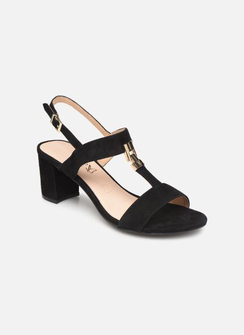 Sandaler Caprice Lotte Sort detaljeret billede af skoene