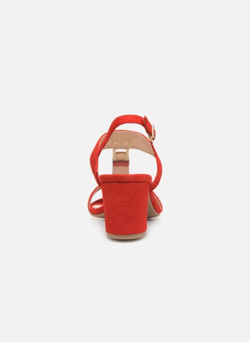 Sandals Caprice Lotte Red view from the right