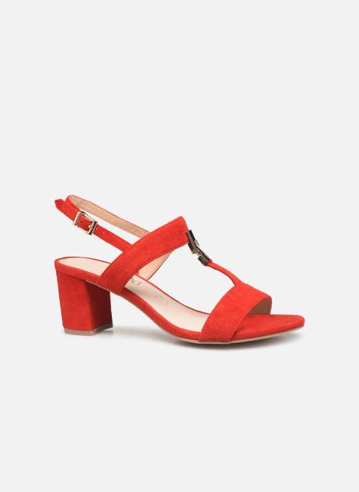 Sandales et nu-pieds Caprice Lotte Rouge vue derrière