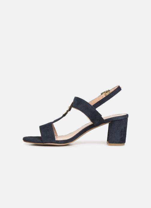 Sandales et nu-pieds Caprice Lotte Bleu vue face