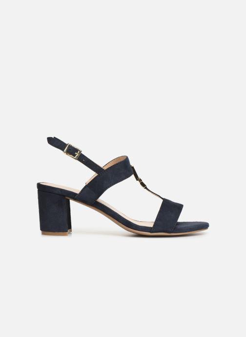 Sandales et nu-pieds Caprice Lotte Bleu vue derrière