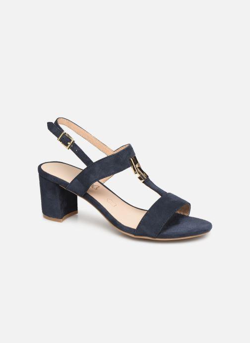 Sandales et nu-pieds Caprice Lotte Bleu vue détail/paire