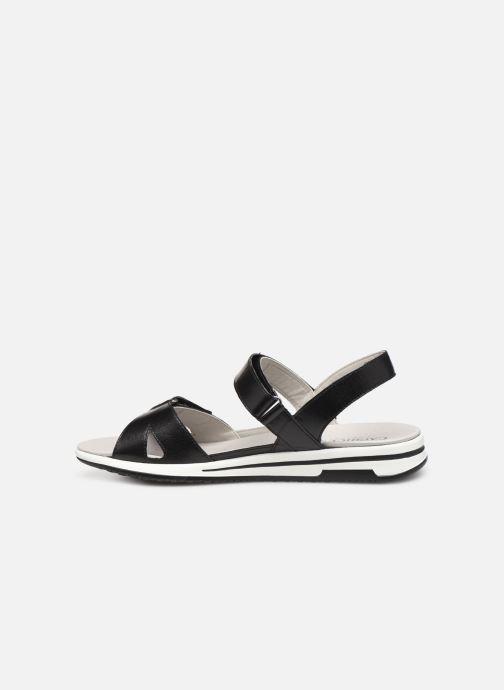 Sandals Caprice Minna Black front view