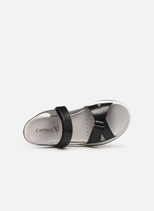 Sandals Caprice Minna Black view from the left