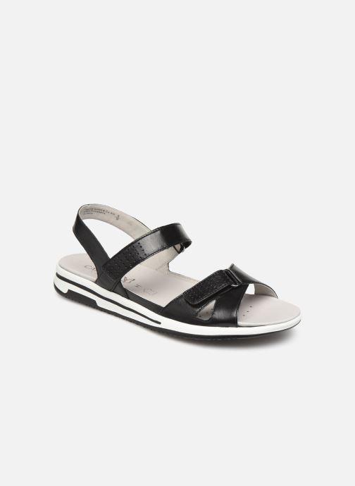Sandals Caprice Minna Black detailed view/ Pair view