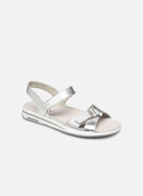Sandales et nu-pieds Caprice Minna Argent vue détail/paire