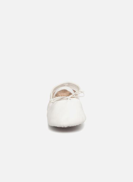 Chaussons Robeez Dancer Blanc vue portées chaussures