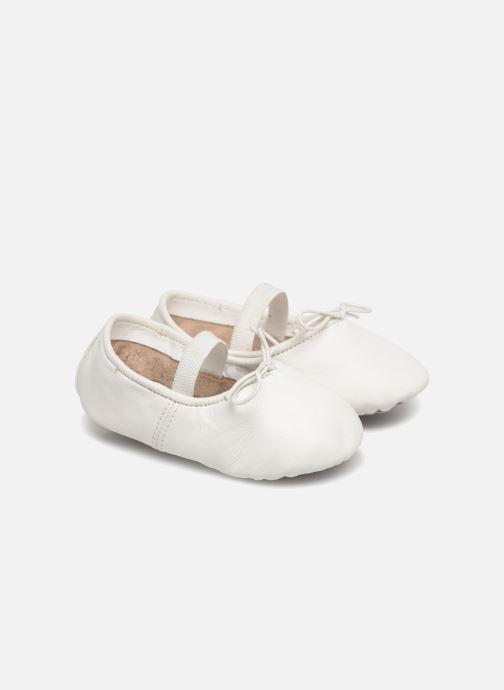 Chaussons Robeez Dancer Blanc vue détail/paire