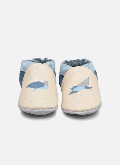 Slippers Robeez Birdy Origami White model view