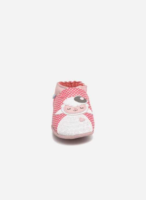 Slippers Robeez Baby Lamb Pink model view
