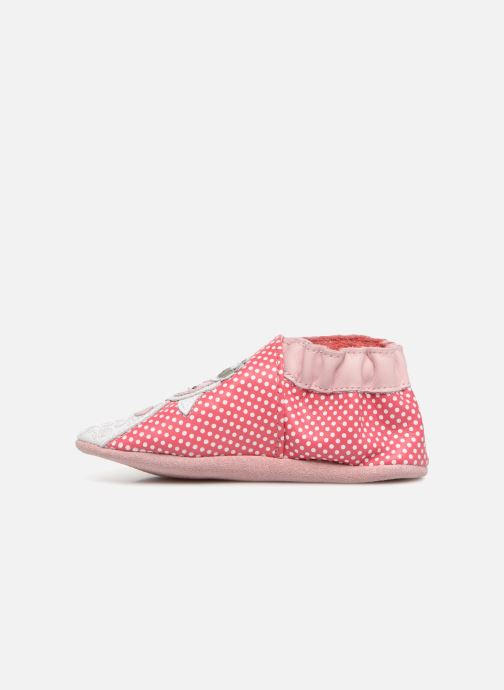 Slippers Robeez Baby Lamb Pink front view