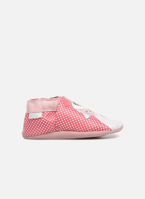 Slippers Robeez Baby Lamb Pink back view