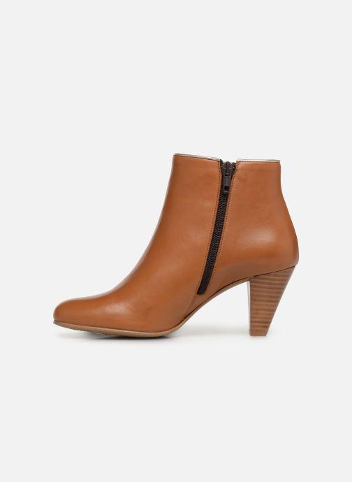 Bottines et boots Georgia Rose Lafaon Marron vue face