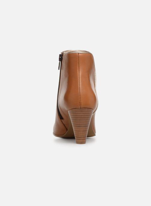 Bottines et boots Georgia Rose Lafaon Marron vue droite