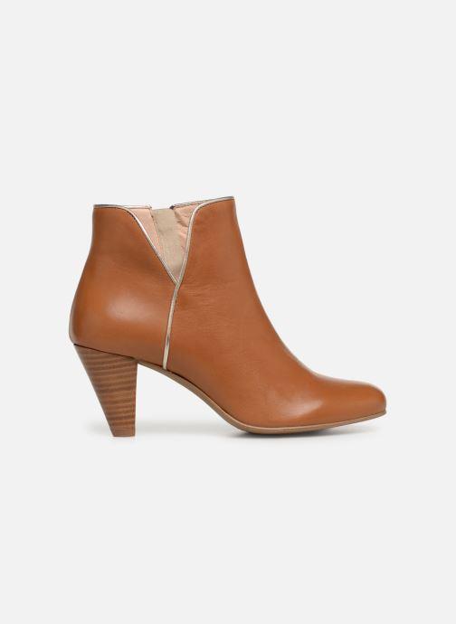 Bottines et boots Georgia Rose Lafaon Marron vue derrière