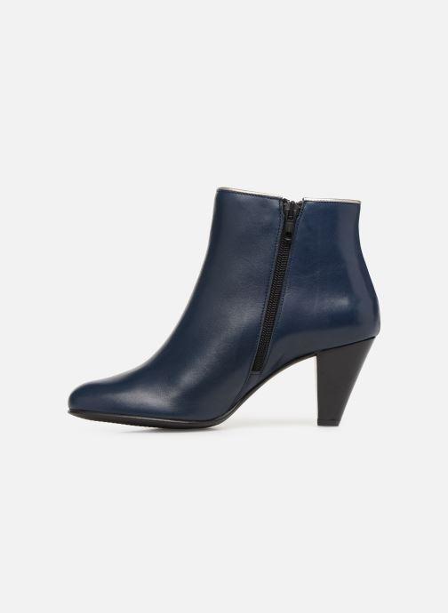 Bottines et boots Georgia Rose Lafaon Bleu vue face