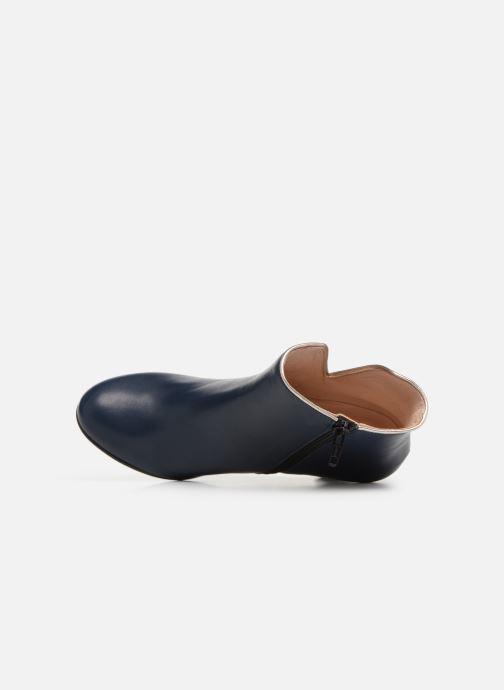 Bottines et boots Georgia Rose Lafaon Bleu vue gauche