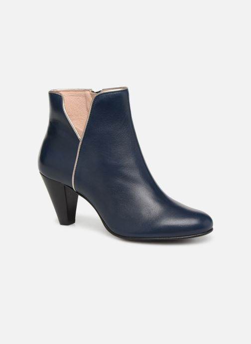 Ankle boots Georgia Rose Lafaon Blue detailed view/ Pair view