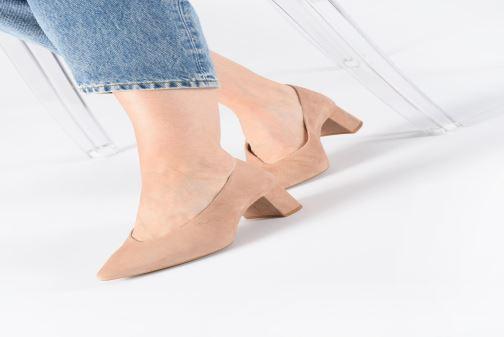 Zapatos de tacón Georgia Rose Ladiana Beige vista de abajo