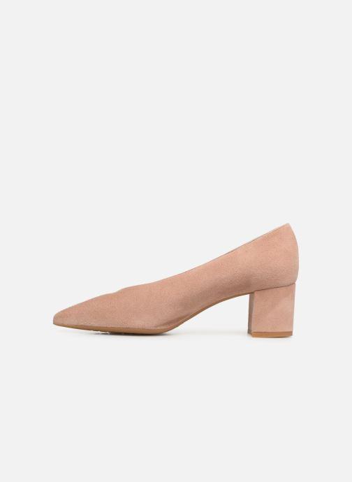 Zapatos de tacón Georgia Rose Ladiana Beige vista de frente