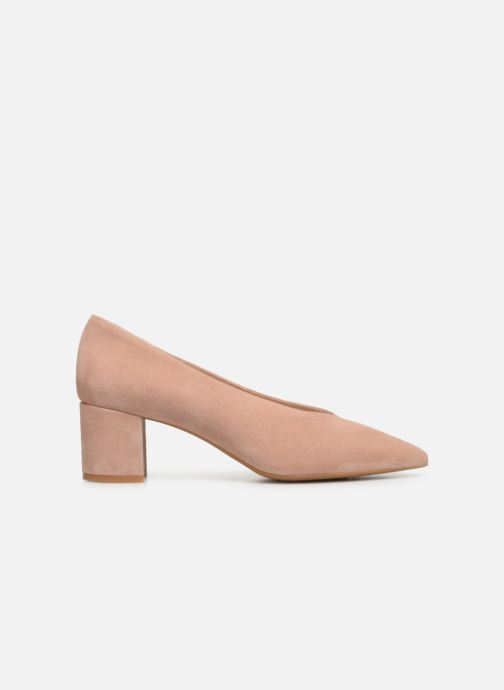 Zapatos de tacón Georgia Rose Ladiana Beige vistra trasera