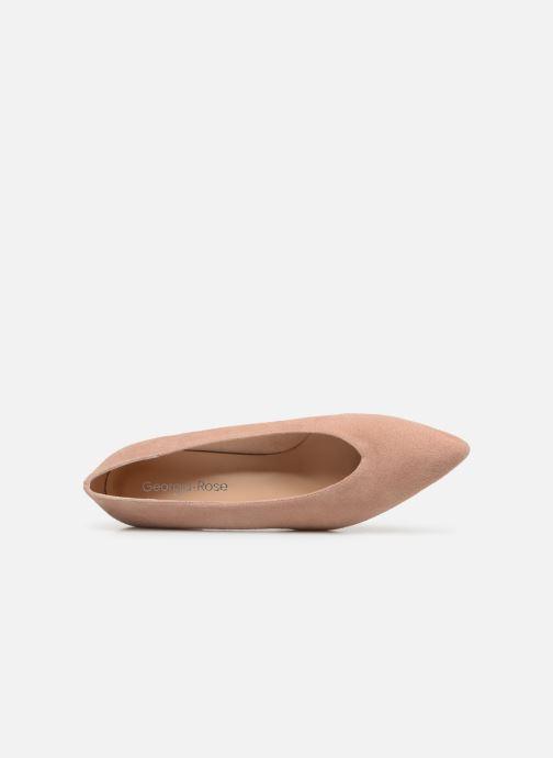 Zapatos de tacón Georgia Rose Ladiana Beige vista lateral izquierda