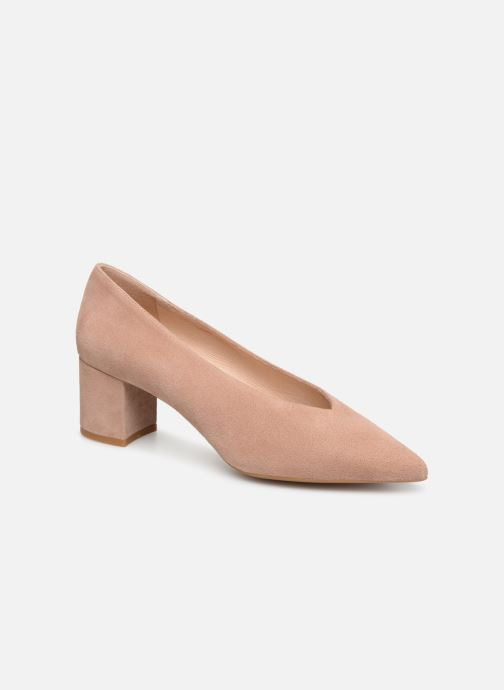 Zapatos de tacón Georgia Rose Ladiana Beige vista de detalle / par