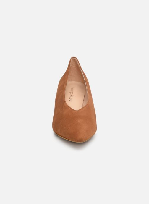High heels Georgia Rose Ladiana Brown model view