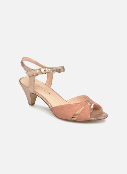 Sandales et nu-pieds Georgia Rose Cepumba Rose vue détail/paire