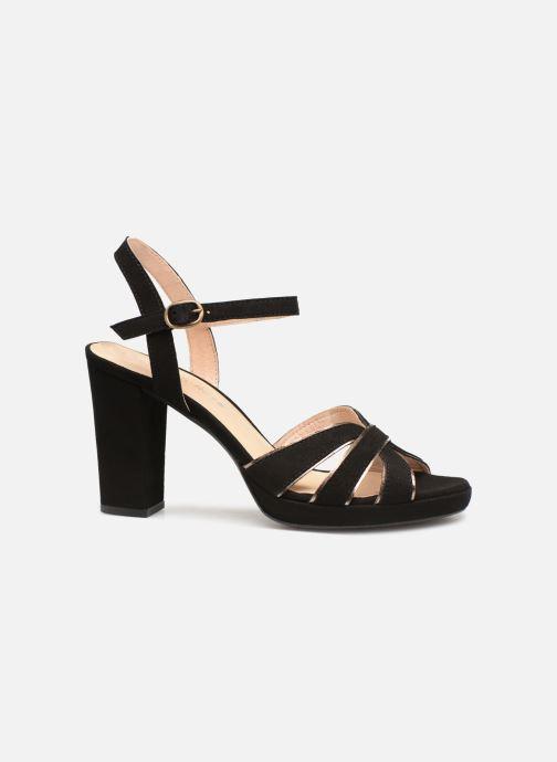 Sandales et nu-pieds Georgia Rose Lapouta Noir vue derrière