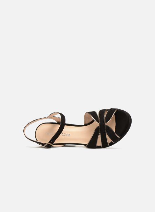Sandales et nu-pieds Georgia Rose Lapouta Noir vue gauche