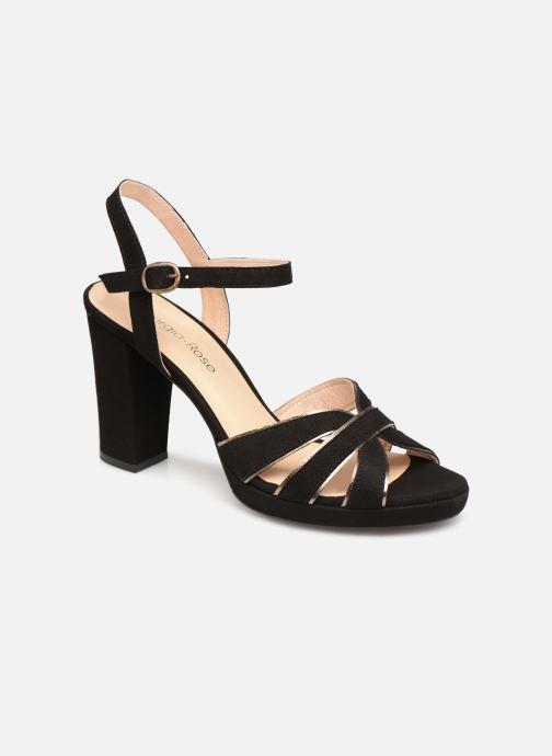 Sandales et nu-pieds Georgia Rose Lapouta Noir vue détail/paire