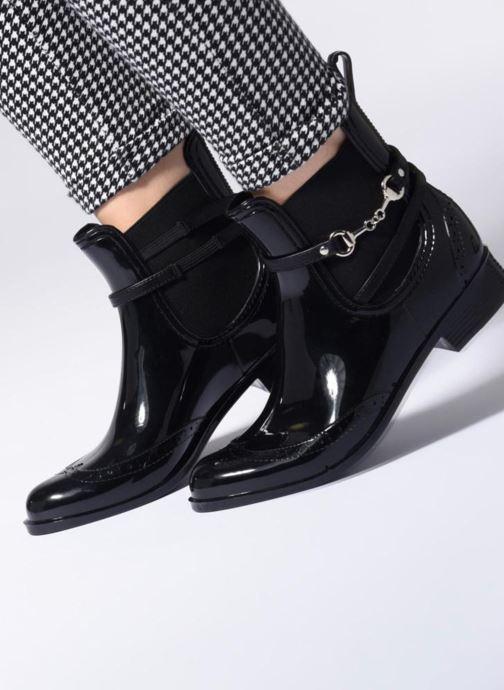 Bottines et boots Be Only Dakota Noir vue bas / vue portée sac