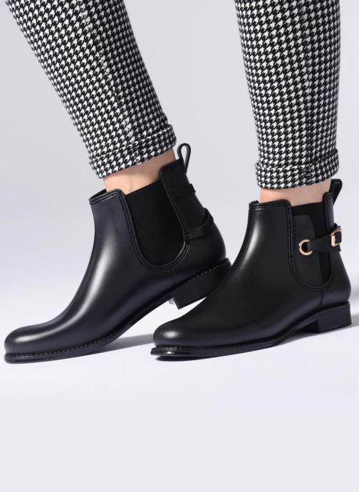 Bottines et boots Be Only Mackay Noir vue bas / vue portée sac