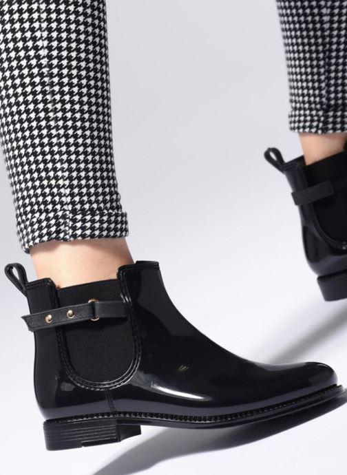 Bottines et boots Be Only Mila Noir vue bas / vue portée sac