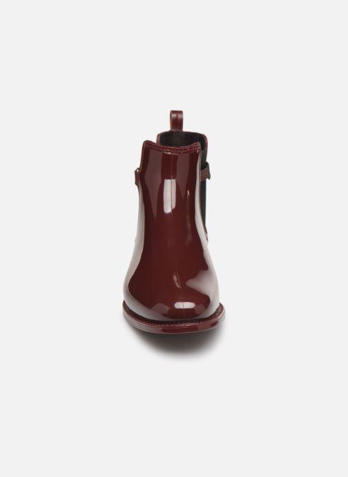Bottines et boots Be Only Mila Bordeaux vue portées chaussures
