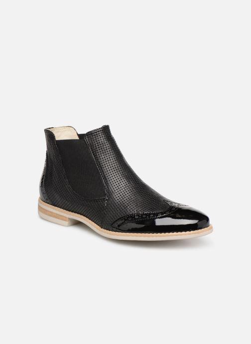 Bottines et boots Georgia Rose Noumia Noir vue détail/paire