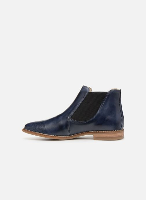 Ankle boots Georgia Rose Nipointa Blue front view