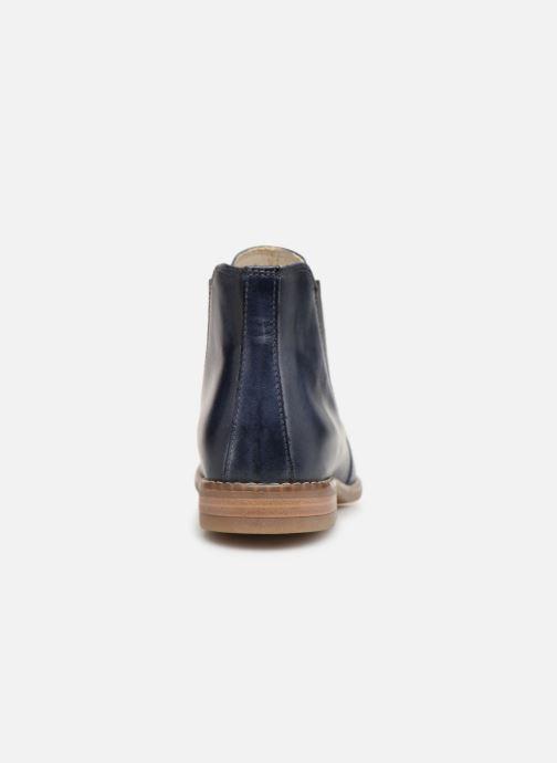 Bottines et boots Georgia Rose Nipointa Bleu vue droite