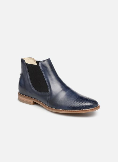 Ankle boots Georgia Rose Nipointa Blue detailed view/ Pair view