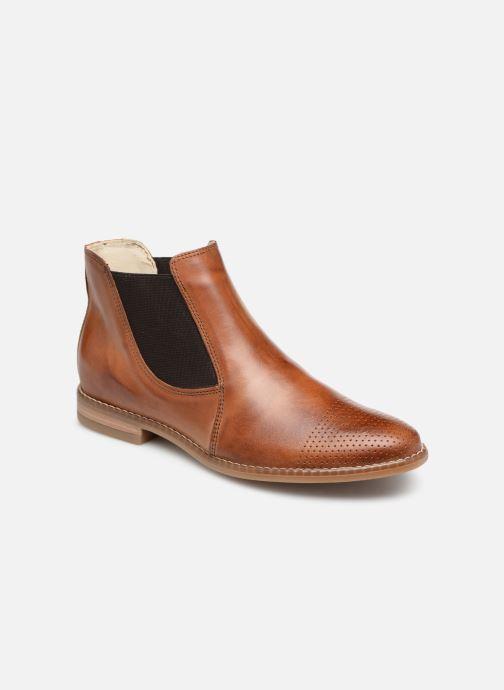 Bottines et boots Georgia Rose Nipointa Marron vue détail/paire