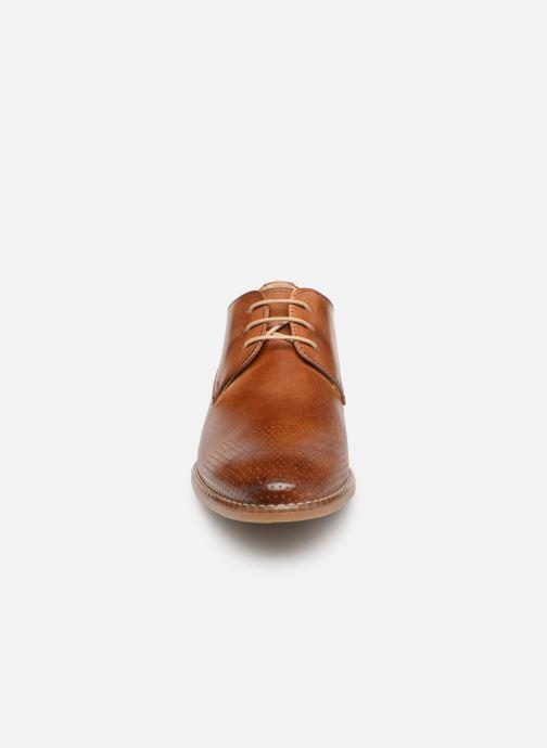 Chaussures à lacets Georgia Rose Narimane Marron vue portées chaussures